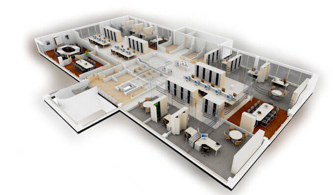 Why use an interior designer fit out refurbishment for Office interior plan
