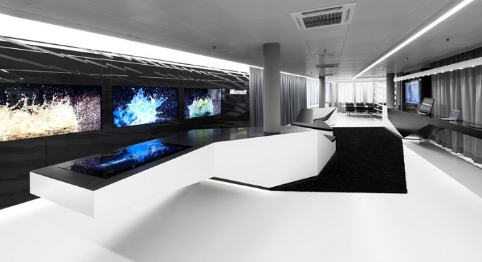 Future trends in office technology fit out for Bureau high tech