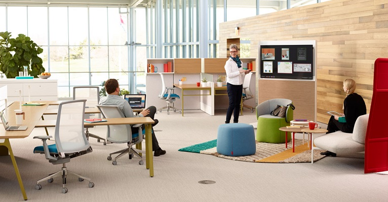 Why collaboration is the latest buzzword in office design - AZTEC